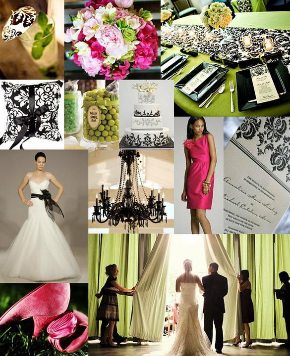 Pink+green wedding - Obrázok č. 23