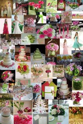 Pink+green wedding - Obrázok č. 25