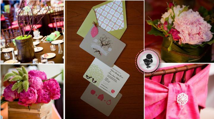 Pink+green wedding - Obrázok č. 30