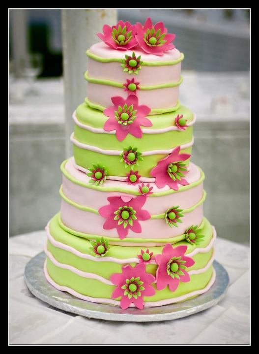 Pink+green wedding - Obrázok č. 32