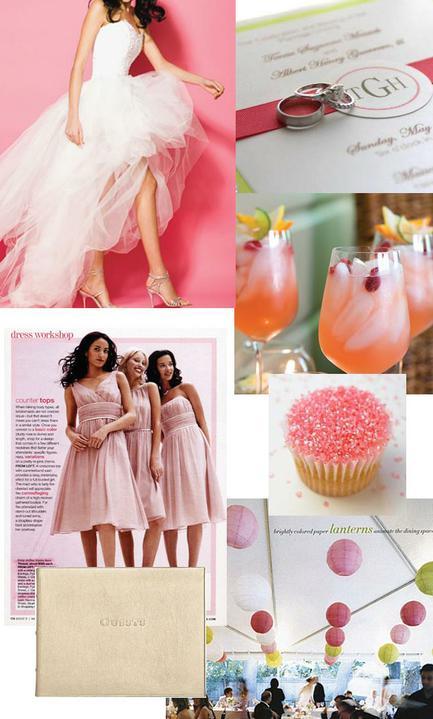 Pink+green wedding - Obrázok č. 37