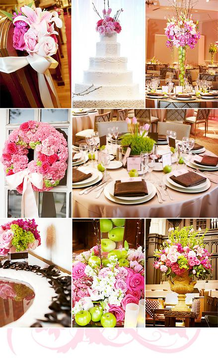 Pink+green wedding - Obrázok č. 38