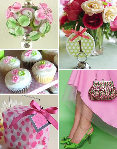 Pink+green wedding - Obrázok č. 40
