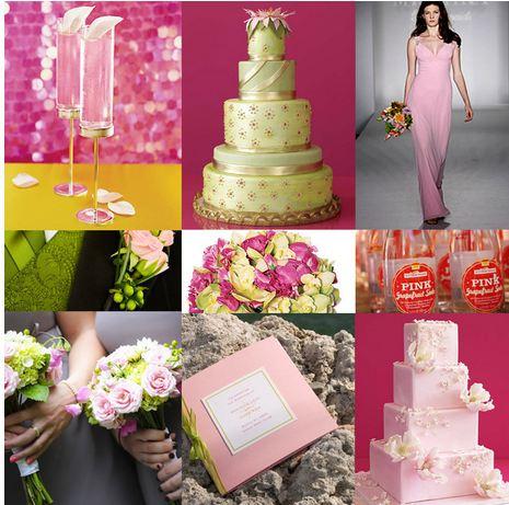 Pink+green wedding - Obrázok č. 41