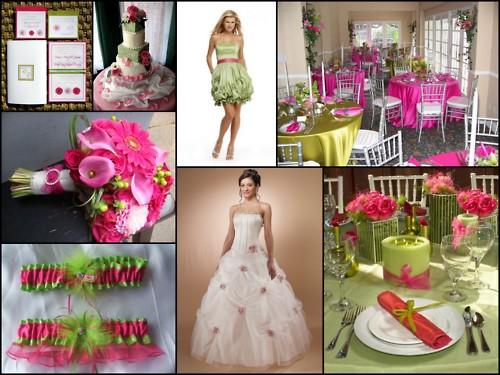 Pink+green wedding - Obrázok č. 46
