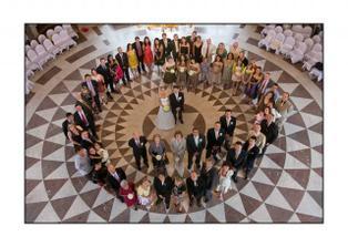 svatebni hoste/ wedding guests