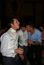 hosi se opravdu bavili/ Mat, Jono and Lynden had a great time