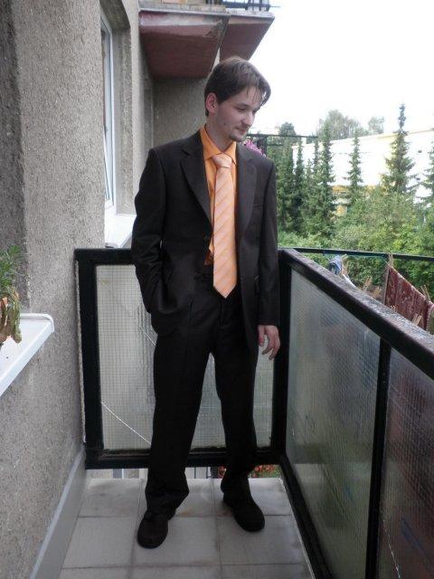 Chystáme - Markéta a Vláďa - Můj budoucí muž už má komplet oblečení :-)