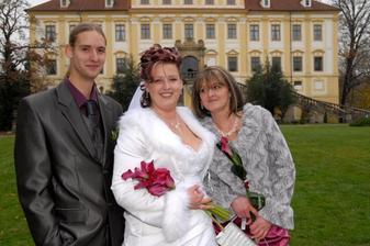 ...s mamkou a bráškou