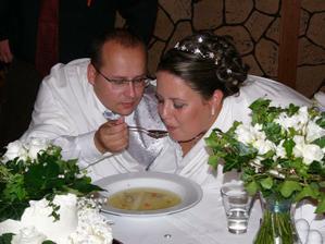 polévkové krmení