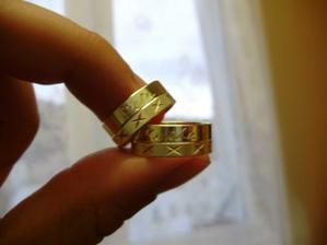 ...naše prstýnky