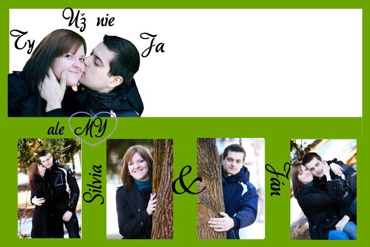 """Naše začiatky príprav - Silvia a Janko - Nase prave """"orechove"""" svadobne oznamenie :-)"""