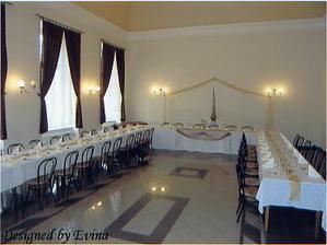 Tu bude naša svadobná hostina