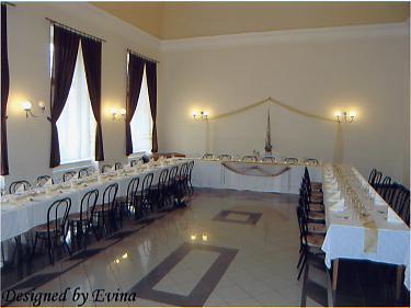 Naše začiatky príprav - Silvia a Janko - Tu bude naša svadobná hostina