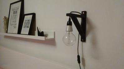 Lampy už visí a mooc se mi líbí :-)