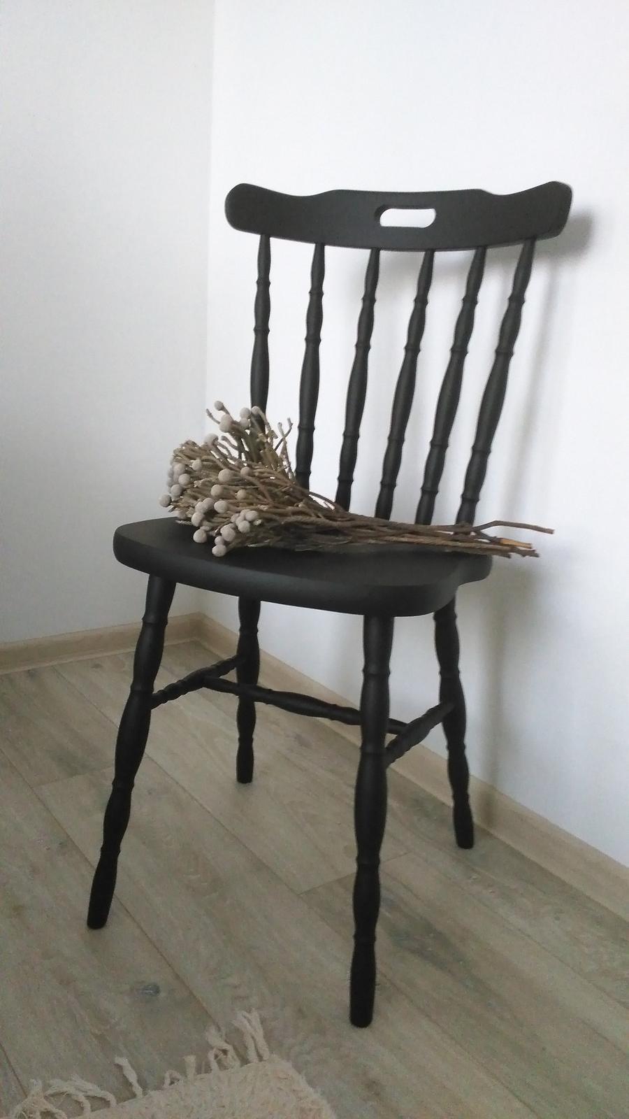 Mé DYI - renovace staré židle