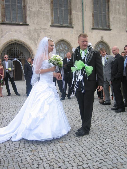 Lucie Bieliková{{_AND_}}Jan Vágner - tak už to máme za sebou... na ženicha čeká koule