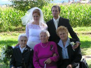s babičkami (a prababičkami)