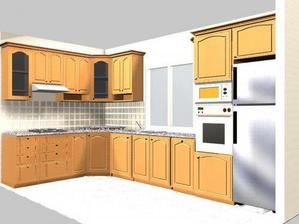 Upravená podoba naší nové kuchyně :-)
