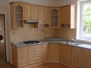 Naše nová kuchyně v reálu