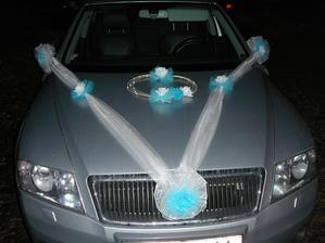 7.12.2013 se vdávala moje mamča a tak jsem jí vyzdobila auto ( foceno hodně pozdě :o((( )