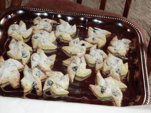 ukázka rohových koláčků...