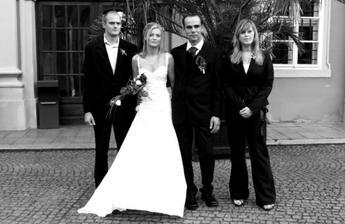 s bráškou a jeho přítelkyní