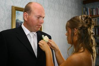 ...a pierko pre ženícha