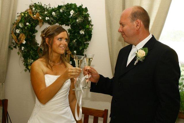 Katka{{_AND_}}Martin - novomanželský prípitok