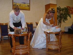 prebaľovanie bába zvládol lepšie manžel, ale mal veľa výhod..ha