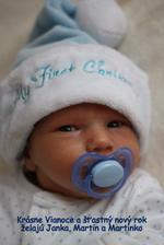 Po 875 dňoch po svadbe sa nám narodil náš syn Martinko.