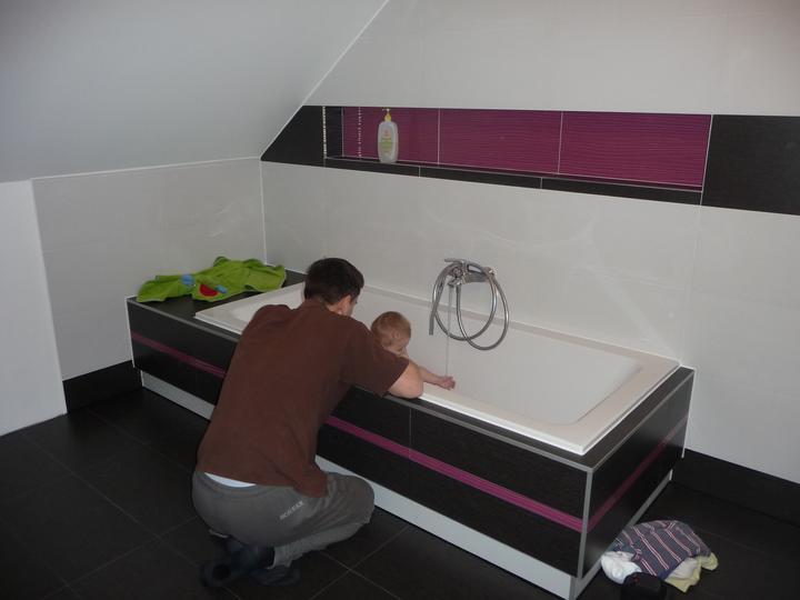 Takto byvame .... - Naša nová kúpelňa