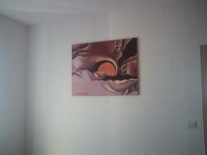 Obraz v spálni