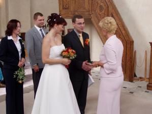 Gratulace od paní matrikářky...
