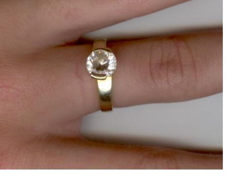 Aj zima ma caro - moj snubny prsten