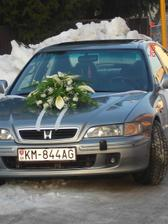svadobne auto zenicha