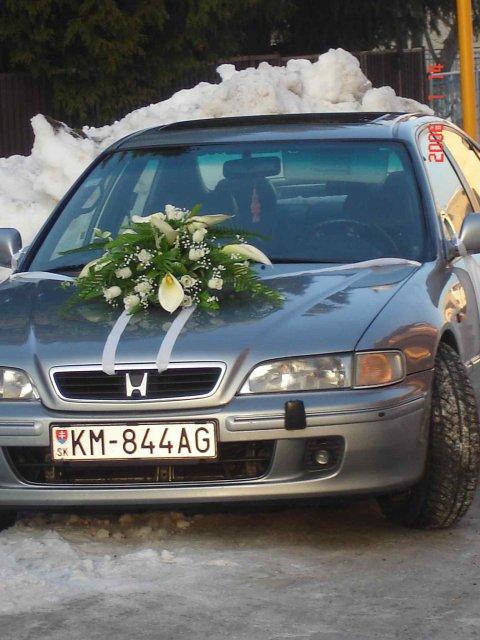 Vyzdoby svadobných  áut - Obrázok č. 93