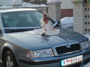 svadobne auto nevesty