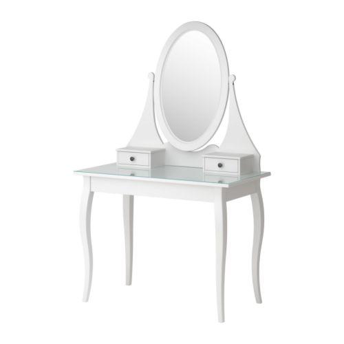 Niečo čo sa nám páči-niečo čo inšpiruje nás a možno aj vás :) :):) - Skoda ze je iba v biele farbe :(Ikea- HEMNES Toaletný stolík so zrkadlom, biela € 199