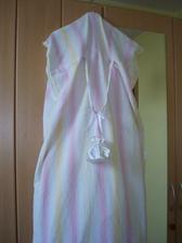 A vak na šaty z povlaku na peřiny :-)