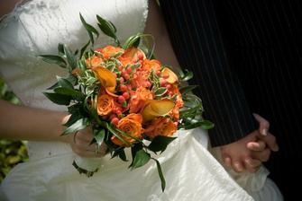svatební kytka