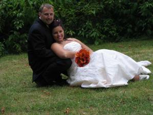 nevěsta se ženichem