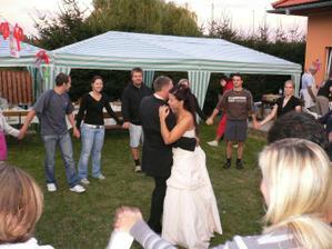 první tanec s manželem