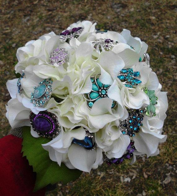 Svadobné kytice inak - Obrázok č. 47