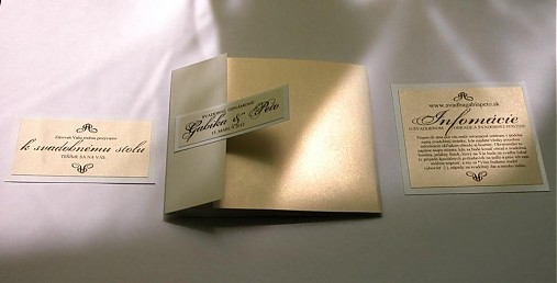 Oznamenia, menovky, pozvanie k stolu, menu, podakovanie - Obrázok č. 91