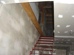 naše nové schodisko