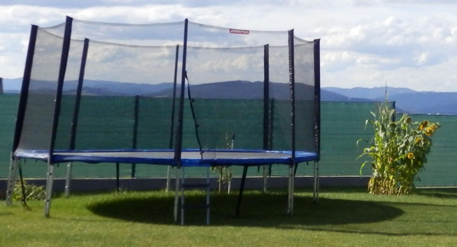 Trampolina Jumpex 4,27m priemer, nosnost 200 kg - Obrázok č. 1