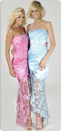 Moja fialova svadba - Krásne šatky pre družičky