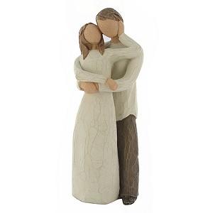 Moja fialova svadba - Postavičky Willow Tree - Together, proste nááádherne