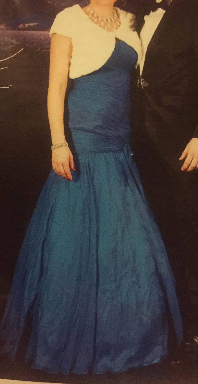 Spoločenské dlhé šaty zn. SHAIL K. - Obrázok č. 1